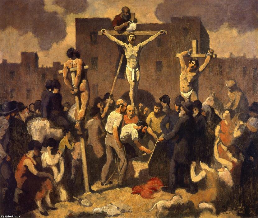 Robert-Spencer-Crucifixion