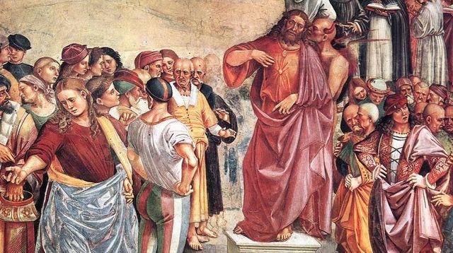 5 - El Sermón y las obras del Anticristo - Luca Signorelli