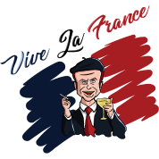 vive-la-france-macron-paris