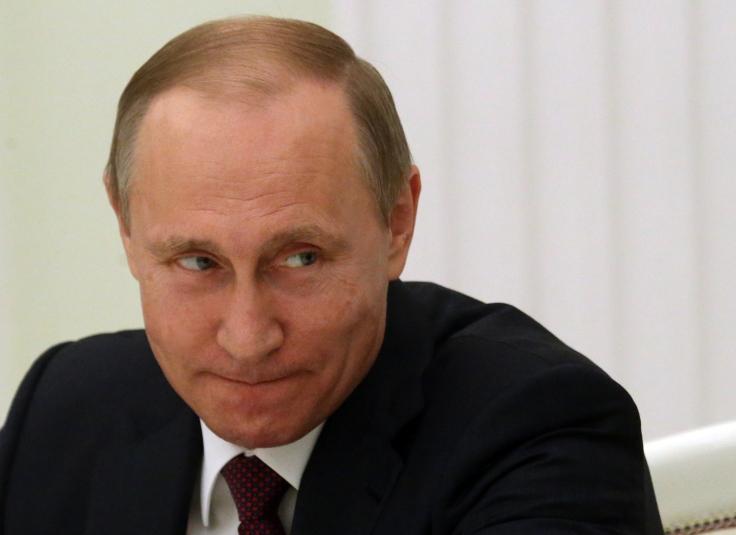 Putin Receives German Businessmen
