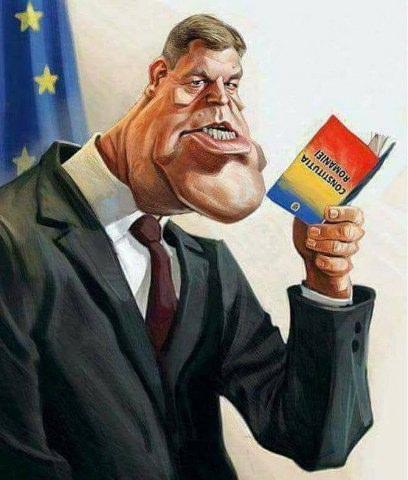 Klaus-Iohannis-constitutia-caricatura