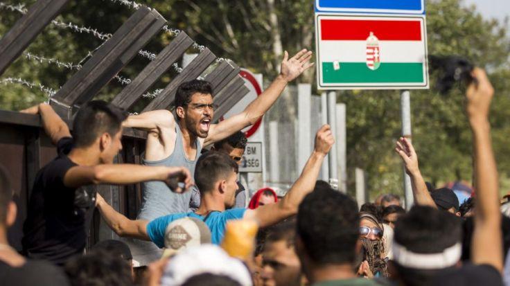 Ungarn Grenze Flüchtlinge Flüchtlingskrise Dublin EU Schengen