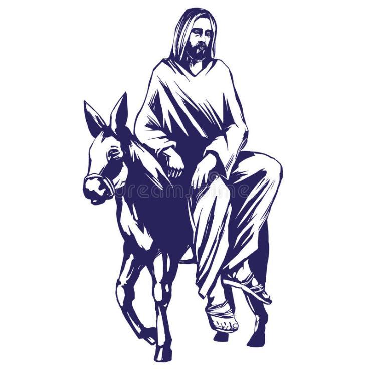 palmsonntag-jesus-christ-fährt-auf-einen-esel-jerusalem-symbol-der-christentumsvektor-illustrationsskizze-87394694